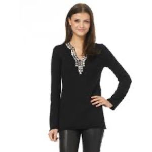 Tory Burch Wool Studded Tunic